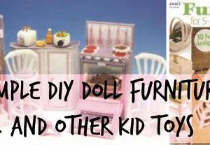 DIY Barbie and Doll Furniture | Homemade Kids Toys
