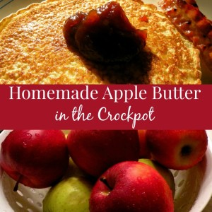 Making Apple Butter in the Crockpot