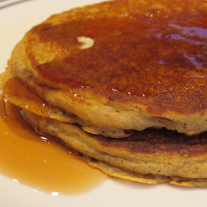 Perfectly Spiced Pumpkin Pancakes