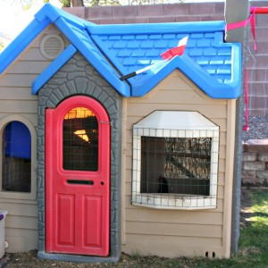 Turn Your Little Tikes Playhouse into a Chicken Coop