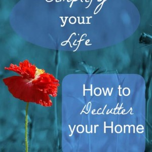 Decluttering and Organizing your Home