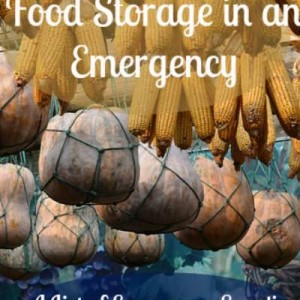 Food Storage and Preppers List of Emergency Supplies