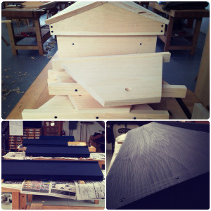 The Assembly of a Top Bar Hive