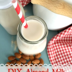 Be self-reliant: Make homemade ALMOND MILK. (A fast, easy recipe)!