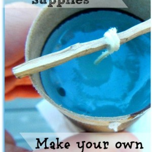 Make Your Own Candle Molds