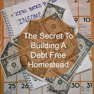 Our Secret To A Debt-Free Homestead