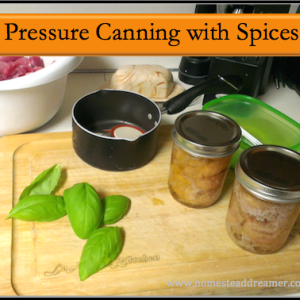 Pressure Canning with Spices