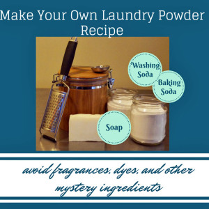Natural Laundry Detergent Recipe