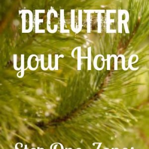 How to Declutter your Home: Using Zones