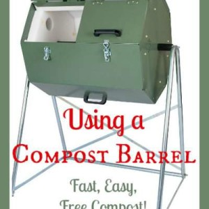 How to Use a Compost Barrel Tumbler