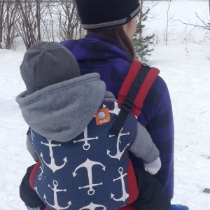 Babywearing for Homesteaders