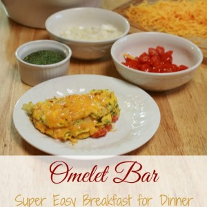 Make Your Own Omelet Bar