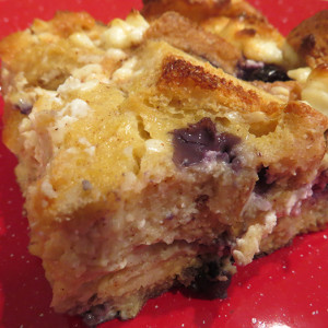 Fruit Loaded French Toast Casserole