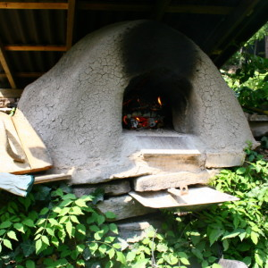 Making Our Mud Oven