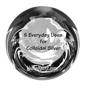 How to use Colloidal Silver