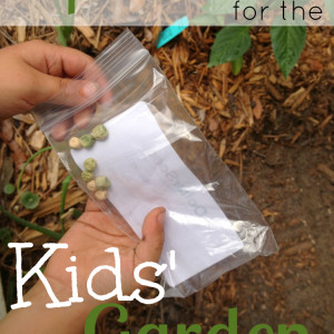 Top 5 Veggies for the Childrens' Garden