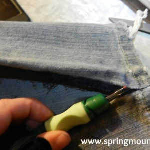 Mending Ripped Pants and Jeans Using Easily