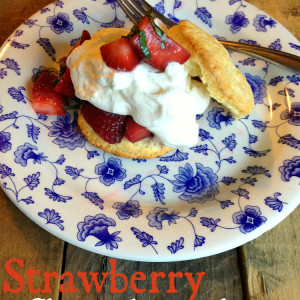 Strawberry-Basil Shortcake Recipe