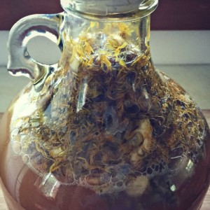 One Gallon of Wildflower Mead