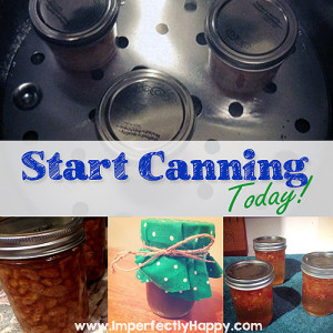 Start Canning Today