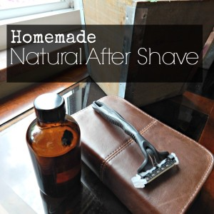 Natural Homeamde After Shave Recipe