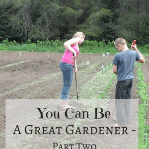 You Can Be A Great Gardener, Part Two – At War with Weeds!
