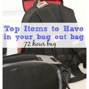 Top Items to Have in a Bug Out Bag