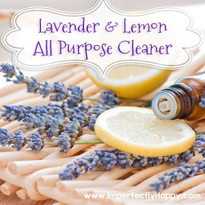 DIY Lavender and Lemon Cleaner