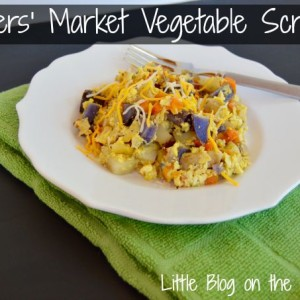 Farmers' Market Vegetable Scramble