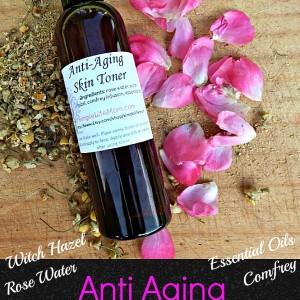 Homemade Anti-Aging Herbal Facial Toner