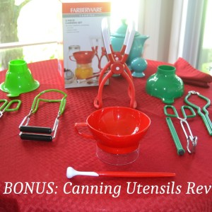 Canning Utensils: Review & Use