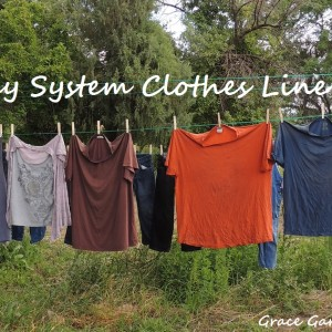 Make Your Own Pulley System Clothing Line