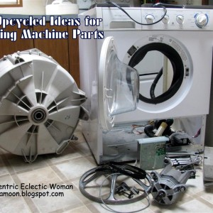 DIY Upcycling For Washing Machine Parts