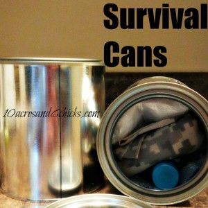 Survival Cans