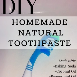 DIY Homemade Natural Toothpaste