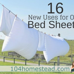 16 NEW Uses for OLD Bedsheets