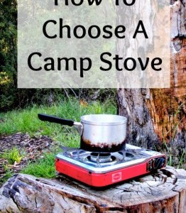 How to Choose a Camp Stove