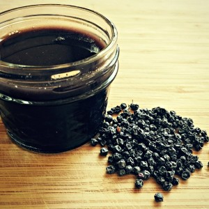 How to Make Elderberry Syrup with Echinacea and Goldenseal