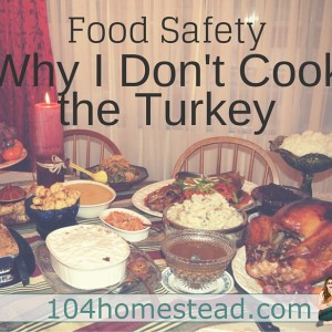Why I Don't Cook the Turkey