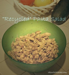 Recycled Juicer Recipe Pasta