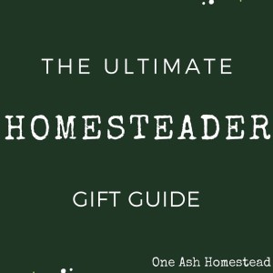 100+ Gift Ideas For The Homesteader In Your Life (The Ultimate Gift Guide)