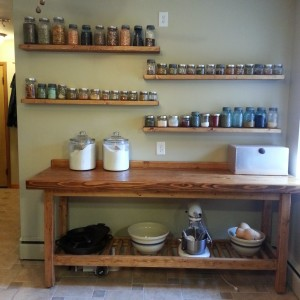 Apothecary Wall – How We Made Floating Shelves