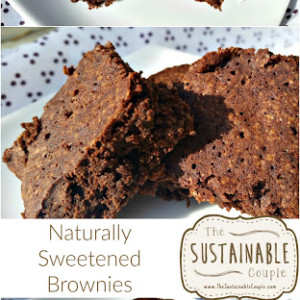 Naturally Sweetened Cocoa Brownies
