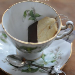 Tea Bag Shortbread Cookies
