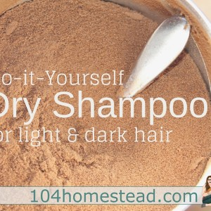 DIY Dry Shampoo Recipes