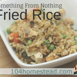 Something from Nothing: Delicious Fried Rice