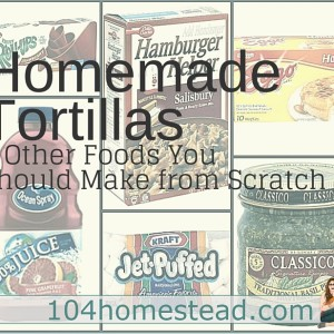 Homemade Tortillas & Other Recipe Hacks