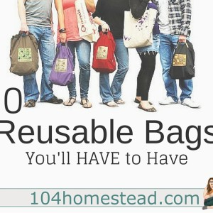 10 DIY Reusable Bags You'll HAVE to Have