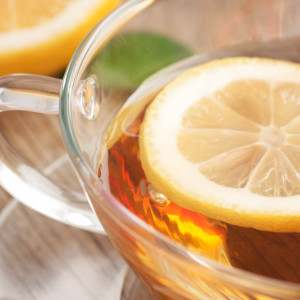 Lemon, Honey, Ginger Tea Base for Colds and Flus