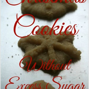Christmas Cookies Without Excess Sugar